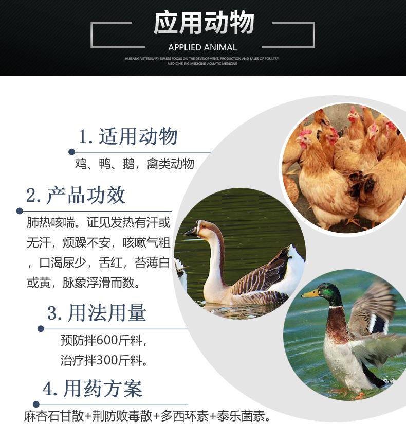 麻杏石甘散1000g 产品详情页-适用动物.jpg